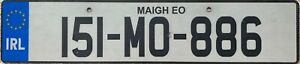 Southern-Ireland-Co-Mayo-Eire-Irish-Number-Licence-License-Plate-151-MO-886