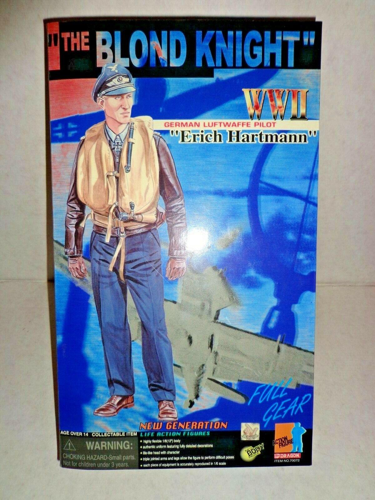 Dragon  The Blond Knight Geruomo luftwaffe pilot ww2 mib,misb,moc  in linea
