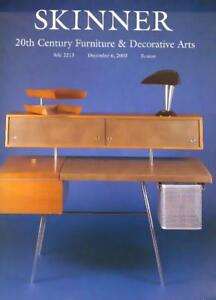 Four Skinner 20th C Furniture Deco Art Noveau Post Auction Catalogs Ebay