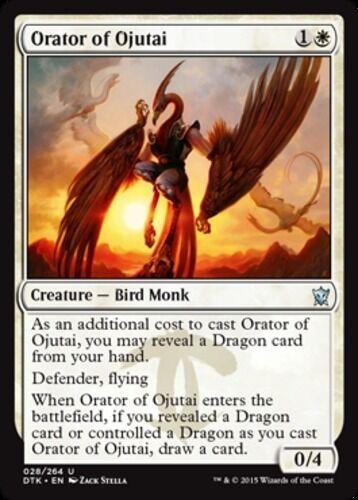 x4 Orator of Ojutai MTG Dragons of Tarkir U M//NM English