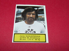 275 DUGUEPEROUX STRASBOURG MEINAU AGEDUCATIFS FOOTBALL 1975-76 PANINI 75-1976