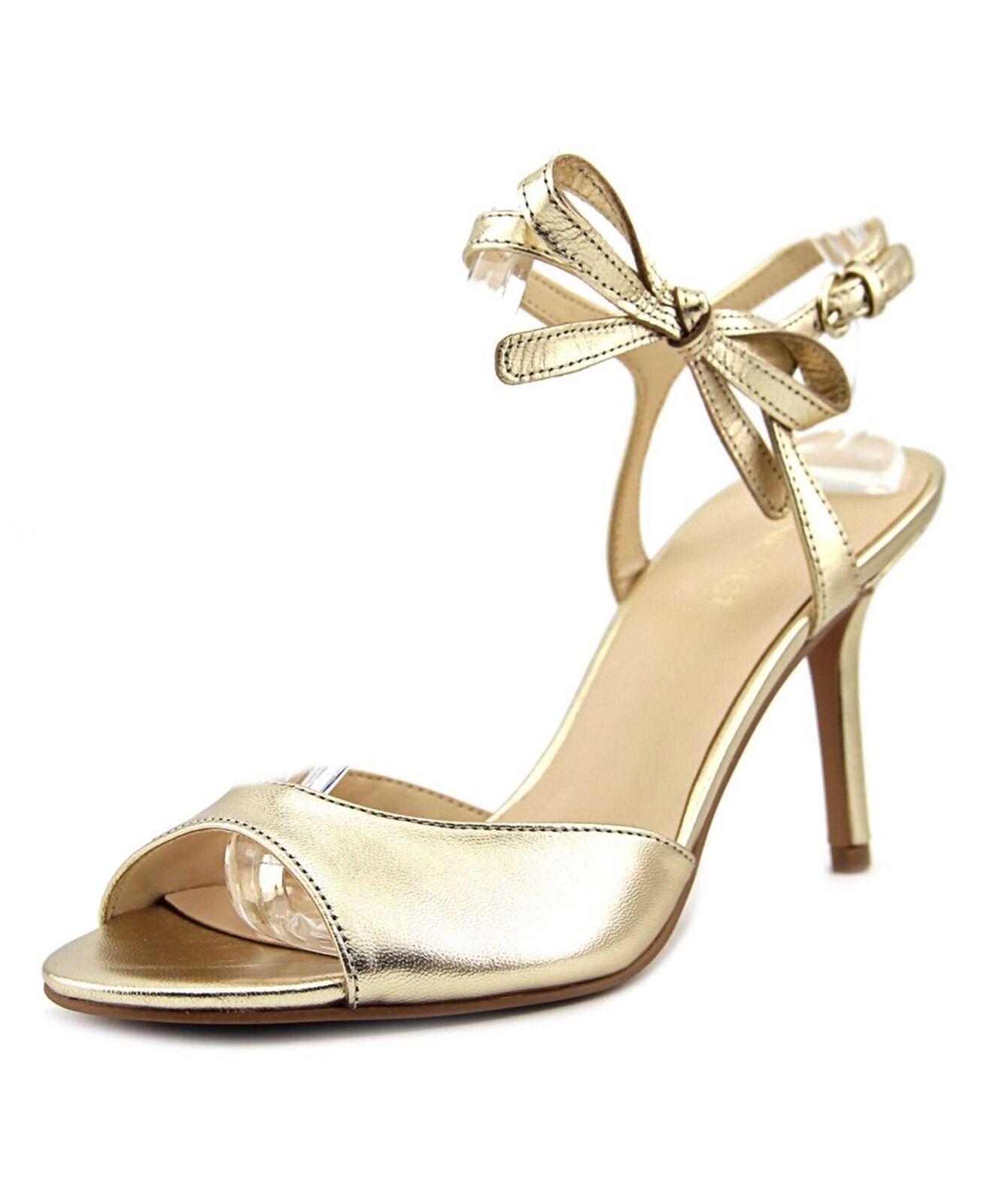 Nine West Gratziay Woman Summer Leder God Heels Sandale Schuhe Pump 39,5 NEU