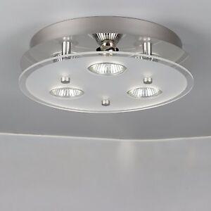 Image Is Loading Modern 3 Way Gu10 Led Ceiling Light Ing