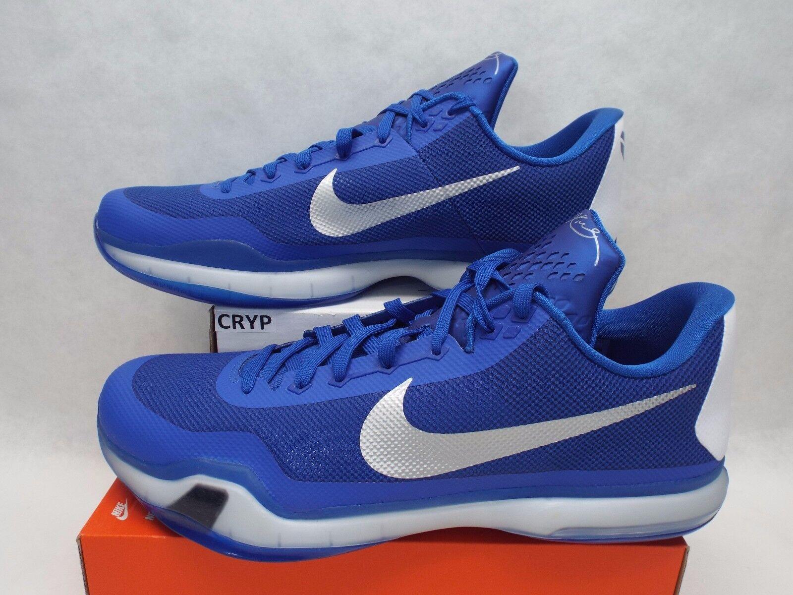 Nuevo hombre 18 Nike Kobe x TB blanco Mid zapatillas de baloncesto blanco TB real reducción de precios 3f1009
