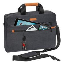 Laptoptasche Umhänge Schulter Tasche für Notebook bis 17,3 Zoll inkl Tablet Fach