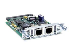 Cisco-VIC-2FXS-2-port-Voice-Card-2600-2600XM-3600-3700