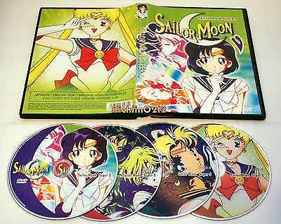 Sailor Moon Super S DVD Collection Complete Season 4 Episode 1-39 ...