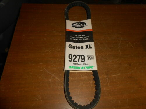 NOS GATES Accessory Drive Power Steering Belt XL Green Stripe 13MM X 720MM 9279