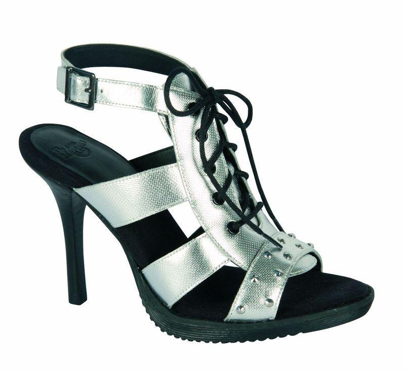 Dr martens pull on sandals Anastasia Silver 15031040 Original Doc
