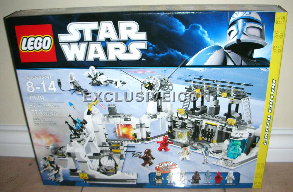 2011 Star Wars Lego 7879 Hoth Echo Base Limited Edition Canadian RETIRED
