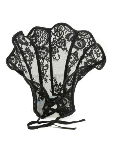 Steampunk Victorian High Neck Cloak Style Collar Choker Costume Cosplay Goth