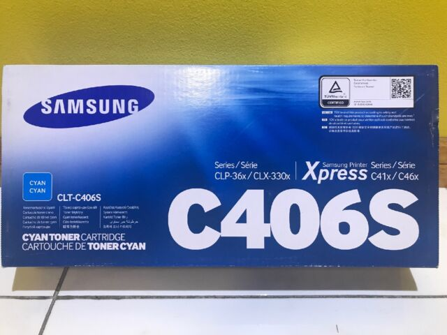 Samsung C406S Cyan Toner Cartridge