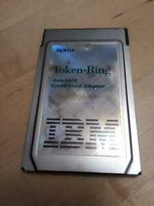 IBM-92G9352-PCMCIA-TOKEN-RING-AUTO-16-4-ADAPTER-missing-cable