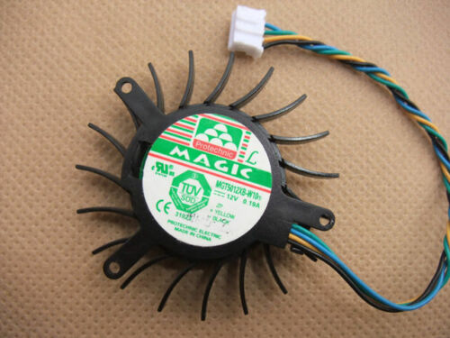 50mm Fan For VGA Video Card 8600GTS nVIDIA GeForce MGT5012XB-W10 034