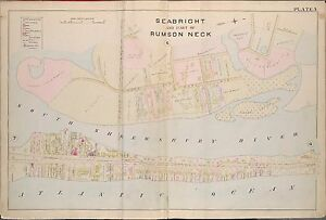 1889 SEABRIGHT RUMSON NECK MONMOUTH COUNTY NEW JERSEY COPY