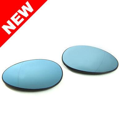 Mini Cooper R50 R52 R53 Polarized Blue Anti-Glare Heated Split Mirror Glass