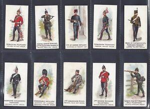 WOODS-W-H-amp-J-VOLUNTEERS-amp-YEOMANRY-FULL-SET-OF-25-CARDS
