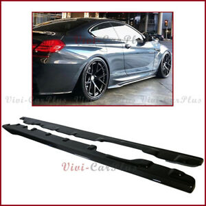 Fits 12-17 BMW F12 6-Series Convertible 2Dr V Style Trunk Spoiler Carbon Fiber