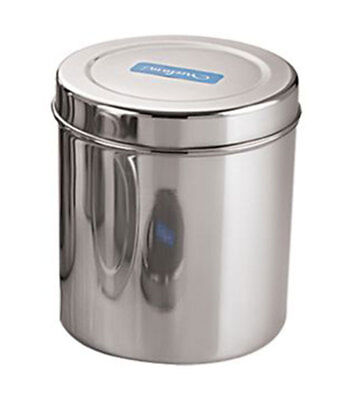 Stainless Steel Storage Box For Grain /& Flour Kitchen Dabba Canister Container
