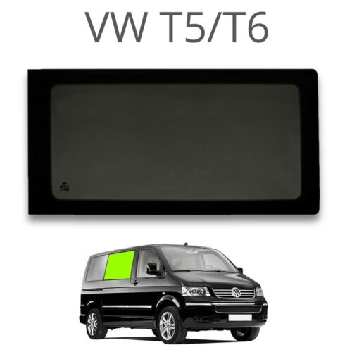 Right fixed window privacy EUROPEAN LEFT HAND DRIVE For a sli for VW T5 // T6