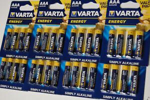 Nett 8 X Varta Energy Batterien Aaa Micro 4103 Alkaline 1,5v Lr03 4er Blist Mhd 12/22 Akkus & Batterien