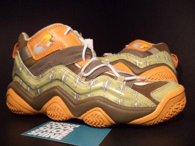 2009 Adidas Top Ten 10 2000 J Looney Tunes Speedy Gonzales marrón Naranja verde 7