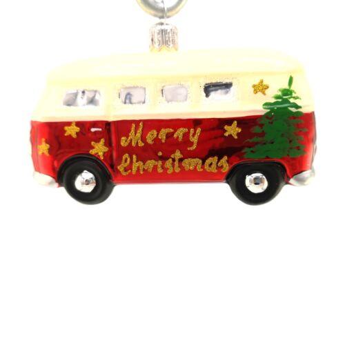 VW-Bus Merry Christmas Hanco Design Christbaumschmuck