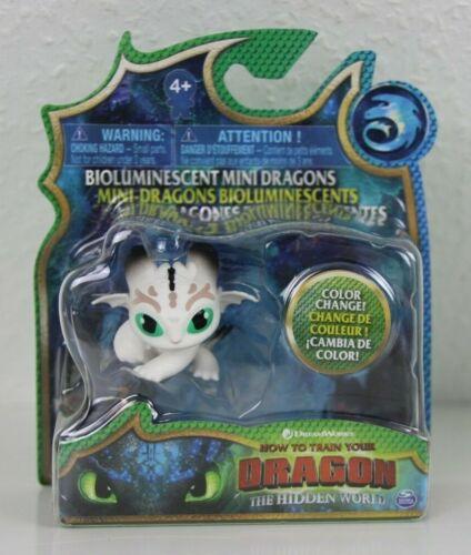 NIGHTLIGHT-bioluminescent MINI Dragons Drago Cavaliere Berk Dragons Hidden World