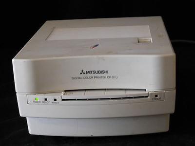 Mitsubishi CP-D1U Digital Dye Sublimation Color Printer Model CP-D1U