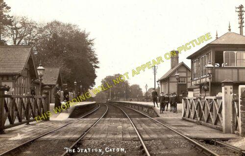 Caton Railway Station Photo 1 Lancaster to Clapham Line. Hornby Halton