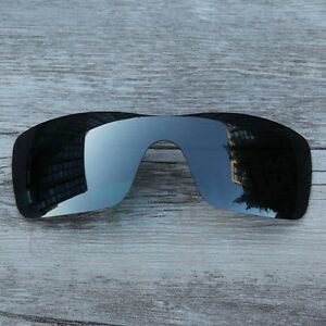 New-Black-Chrome-Black-Iridium-Polarized-Lenses-for-Oakley-Batwolf