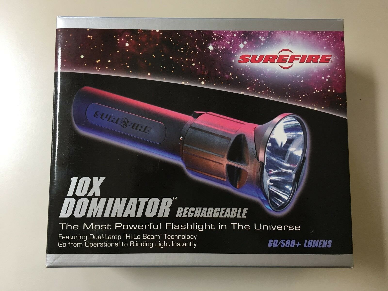 Surefire 10x Dominator Dual Lamp perforhommece Tactical Flashlumière - All Original