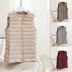 2020-New-vest-Women-Ultra-Light-Down-Jacket-White-Duck-Down-Crew-neck-short-coat