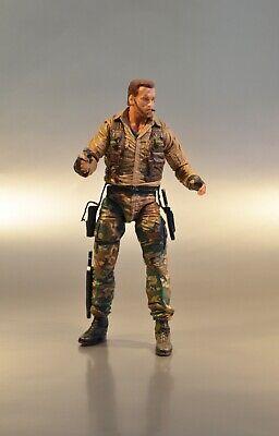 "NECA Predator Jungle Extraction Dutch 30th Anniversary 7/"" Action Figure Doll"