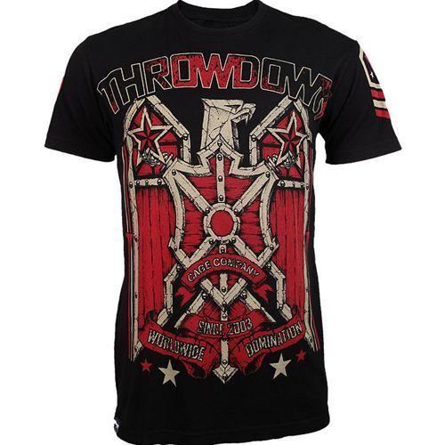 Throwdown Squadron Tee MMA UFC Fight Wear