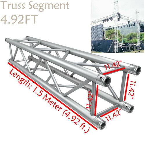 Square Aluminum Stage DJ Light Stand Truss Segment 4 92ft Fit Global Truss  F34