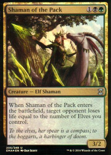Shaman of the Pack FOILNMEternal MastersMagic MTG