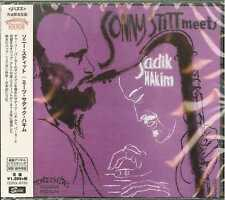 SONNY STITT-MEETS SADIK HAKIM-JAPAN CD C65