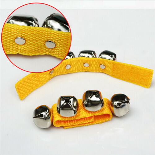 Multi-color Dance Baby Metal Bell Wrist Foot Rattles Funny Sound Kids Toys 6A