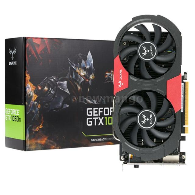 NVIDIA GeForce GTX 1050Ti 4GB Gaming GDDR5 PCI-Express 3.0 Video Graphics  Card