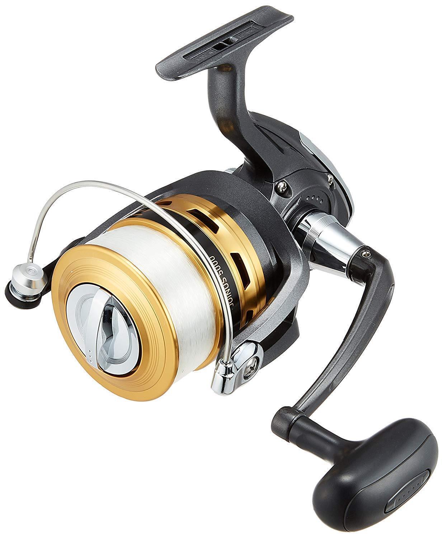 Daiwa Hilado Cocheretes 16 joinus con Nylon Fishing Line  5000 Nuevo de Japón  Felices compras