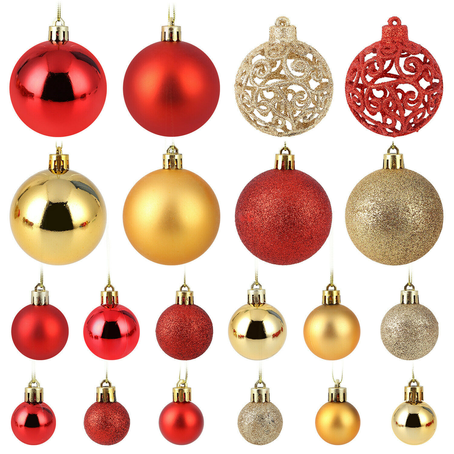 50x//100x Artificial Red //Gold Holly Berry Xmas Tree Party Nice Decor Magic