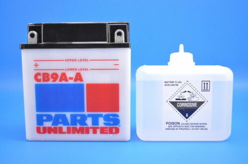 85-86 Honda TRX125 Parts Unlimited 12-Volt Heavy Duty Battery Kit CB9A-A-FP