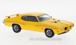 Pontiac GTO the judge,, amarillo oscuro 1970 neo 1 43 45986    New