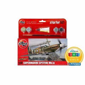 Airfix Airf55100 Supermarine Spitfire MkIa Starter Set 1/72