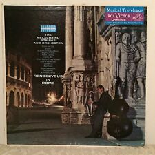"""The Melachrino Strings & Orchestra """"Rendezvous In Rome"""" LMP-1955 NM LP"""