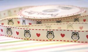 16mm-Owls-and-Hearts-Print-Grosgrain-Ribbon