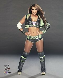 Layla-WWE-DIVA-Wrestling-LICENSED-un-signed-sexy-picture-poster-pic-8x10-photo
