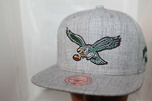 Philadelphia-Eagles-NFL-Mitchell-amp-Ness-Team-Logo-Snapback-Hat-Cap-38-00-NEW
