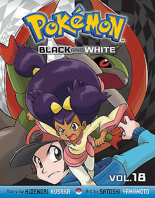 1 of 1 - Kusaka, Hidenori, POKEMON BLACK & WHITE GN VOL 18, Very Good Book